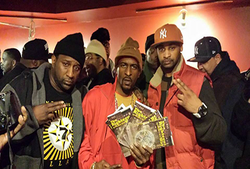Exact & Rakim at Sounds of Brazil (S.O.B.s)